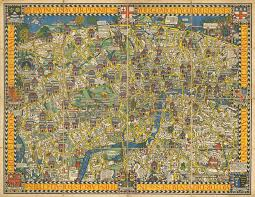 Paper Towns On Maps The Famous Wonderground Map Of London Town England Papertowns