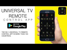 android app to universal tv remote android apps on play