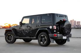 charcoal jeep wrangler 2014 jeep wrangler dragon edition on sale from 51 000