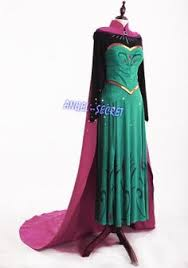 Halloween Costume Elsa Frozen Frozen Anna Dress Anna Costume Anna Frozen Dress Anna Cosplay
