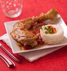 cuisine poulet basquaise poulet basquaise aux poivrons et tomates les meilleures recettes