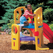 hide and slide climber for kids at little tikes