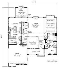 House Plans With Keeping Rooms Riverton House Floor Plan Frank Betz Associates