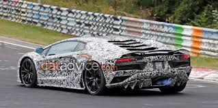 lamborghini aventador price 2017 2017 lamborghini aventador coupe facelift spied at the nurburgring