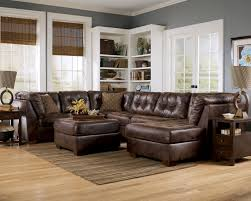 Leather Sectional Living Room Furniture Best Living Room Furniture Arrangement With Sectional Sofa