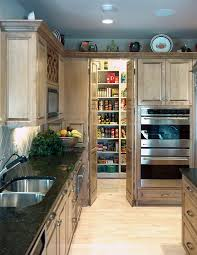 Pantry Kitchen Cabinet Kitchen Cabinets Pantry Kitchen Traditional With Black Countertop