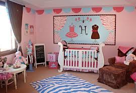 Retro Nursery Decor Exterior Baby Room Decor Displaying Blue Wallpaper Walls