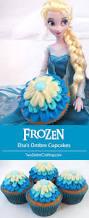 frozen elsa u0027s ombre cupcakes sisters crafting