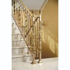 Brass Handrails Grand Forge Collections Railing Post And Balusters Gold