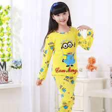 children s pajamas set autumn winter boys sleeved