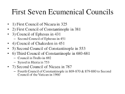 Ecumenical Councils Of The Catholic Church Definition Brief History Of Christianity Division Of The Church