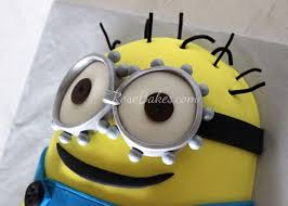 despicable me minion cake tutorial rose bakes