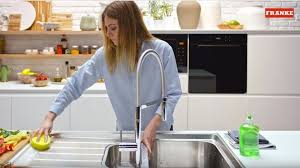 shine stainless steel sink how to clean kitchen sink franke kitchen systems
