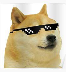What Is The Doge Meme - doge meme posters redbubble