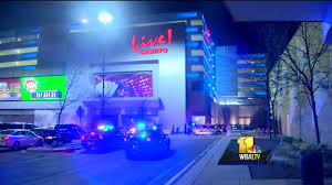 police chase ends at maryland live casino
