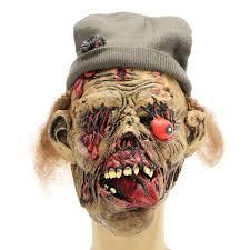 caretaker zombie mask fancy dress halloween costume horror