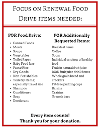 f o r food drive benefiting more than 600 families in the