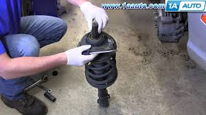 2005 honda odyssey strut assembly how to replace front strut mount or 2001 06 hyundai elantra