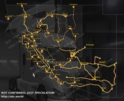 Original Route 66 Map by American Truck Simulator Arizona Dlc What We Like To See Ats World