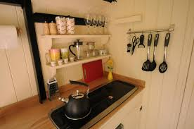 White Hut Kitchen by The Humble Hideaway Humble By Nature Wye Valley Wales