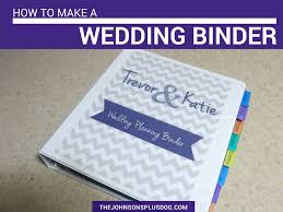 wedding planner binder how to make a diy wedding binder manzanita