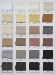 custom color chart for all types of silk cloud hunter