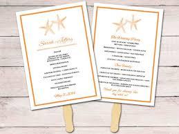 Diy Wedding Ceremony Program Fans 559 Best Beach Weddings Images On Pinterest Beach Weddings