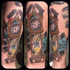 best 25 grandfather clock tattoo ideas on pinterest bleeding
