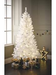 george home 6ft white pre lit led tree warm white