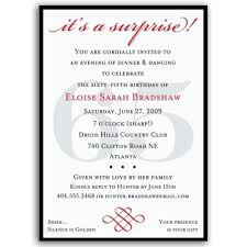 65th birthday invitations marialonghi com