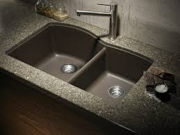 undermount kitchen sink with faucet holes kitchen faucet undermount kitchen sinks with marble