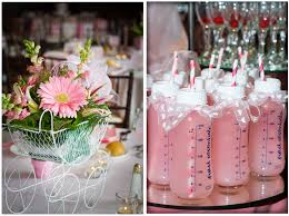 baby shower idea elegant baby shower pink lemonade in baby