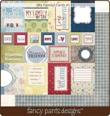 miss fancy designs product spotlight my family card and strips