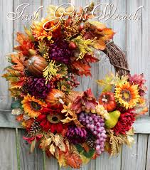 harvest cornucopia girl s wreaths where the difference is in the details