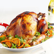 thanksgiving capitalized roasted turkey a l u0027orange recipe taste of home