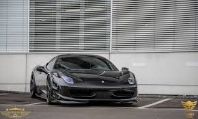 ferrari 458 italia wallpaper black on black ferrari 458 italia by luxury custom gtspirit