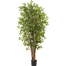 outdoor artificial trees you ll wayfair