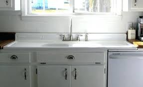 vintage cast iron sink drainboard cast iron wall hung sink brand new drain board kitchen sink in cast
