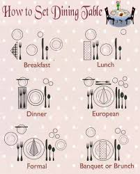 how to set a dinner table correctly 153 best serving ed images on pinterest dining etiquette mise en