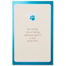 condolences for loss of pet sympathy card for pet loss with foil walmart