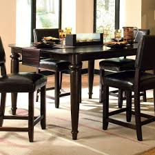 round dining room table with leaf kitchen round dining table with leaf counter height dinette sets