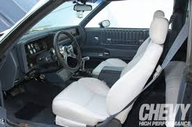 2003 Monte Carlo Ss Interior 1984 Chevy Monte Carlo Ss Cool Burn Chevy High Performance