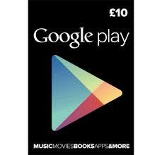 play gift card code buy 10 gbp play gift card uk region digital code