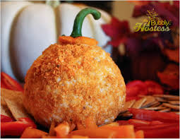 easy thanksgiving appetizer the bubbly hostess pumpkin cheese ball