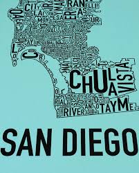 San Diego Map Neighborhoods by San Diego Neighborhood Map 13
