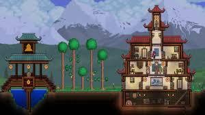 terraria houses ideas