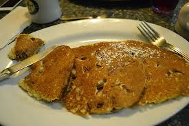 Comfort Diner Pancakes With Pecan Nuts So Tasty Picture Of The Comfort