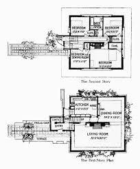Av Jennings Floor Plans Arthur Heurtley House Plan House Interior