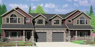 craftsman house plans with basement duplex house plans corner lot duplex house plans narrow lot
