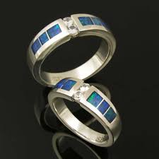 Opal Wedding Ring Sets by Opal Wedding Ring Sets The Wedding Specialiststhe Wedding